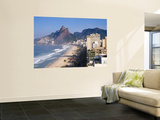 Brazil  Rio De Janeiro  Ipenema Beach Looking Towards Leblon