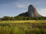 Mozambique  Near Nampula; the Stunning Landscape of Northern Mozambique Early in the Morning