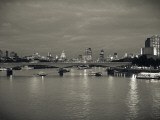 Waterloo Bridge and River Thames  London  England