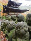 Asia  Japan; Kyoto  Sagano  Arashiyama  Otagi Nenbutsu Dera Temple  Stone Images