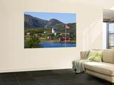 The Harbour Town of Malnes  Vesteralen  Nordland  Norway