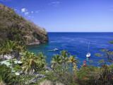 Caribbean  St Lucia  Anse Chastanet Beach