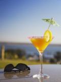 Tropical Drink at Hotel Cardoso  Maputo  Mozambique