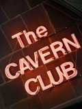 The Cavern Club at 10 Mathew Street  Liverpool; England  Uk