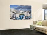 Tunisia  Sidi Bou Said  Elevated Town View