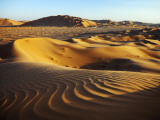 Oman  Empty Quarter; the Martian-Like Landscape of the Empty Quarter Dunes;