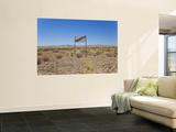 Thirsty' Sign in Namib Desert  Namibia