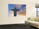 Brazil  Rio De Janeiro  Cosme Velho  Chirst the Redeemer Statue Atop Cocovado