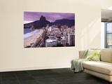 Brazil  Rio De Janeiro  View of Leblon Beach and Two Brothers Mountain - Dois Irmaos