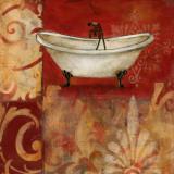 Scarlet Bath I