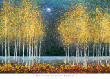 Lune bleue Reproduction d'art par Melissa Graves-Brown