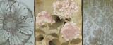 Pink Hydrangeas Panel II