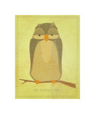 The Sensible Owl Giclée par John Golden