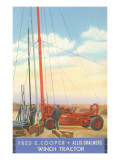 Winch Tractor Advertisement