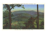 Mt Leconte  Gatlinburg  Tennessee