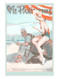 Vie Parisienne  French Beach Scene