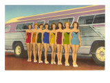 Bathing Beauties by Bus
