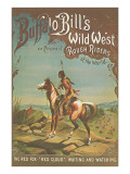 Buffalo Bill's Wild West Show Poster  Indian Brave