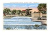 Littlefield Fountain  University of Texas  Austin