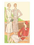 Flappers on the Tennis Court