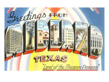 Greetings from Midland  Texas