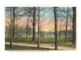 Chickamauga Battlefield  Chattanooga  Tennessee