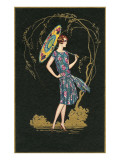 Flapper with Parasol