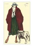 Early Grunge Look with English Bulldog