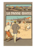 La Panne-Bains  Tennis on Beach