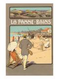La Panne-Bains  Tennis on Beach