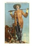 Buffalo Bill with Saddle and Rifle