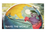 Travel the World  Routes to Asia