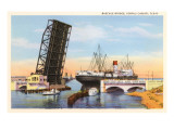 Bascule Bridge  Corpus Christi  Texas