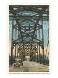 Steel Bridge  Waco  Texas