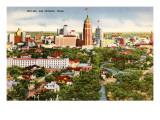 Skyline  San Antonio  Texas