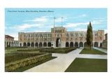 Rice Institute  Houston  Texas