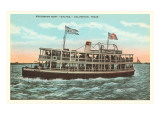 Excursion Boat  Galveston  Texas