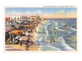 North Beach  Corpus Christi  Texas