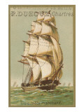 Three-Masted Merchant Ship