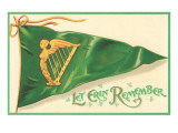 St Patricks Day  Let Erin Remember  Pennant