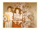 Girls at Christmas with Osmonds Album
