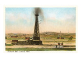Oil Gusher  Amarillo  Texas