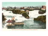 Upper Falls  Spokane  Washington