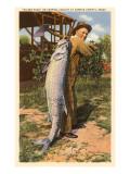 Giant Fish Caught at Corpus Christi  Texas