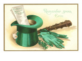 St Patricks Day  Irish Motifs  Remember Green Erin