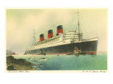 Cunard Ocean Liner RMS Queen Mary