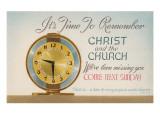 Church Reminder  Alarm Clock