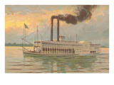 Mississippi River Boat  Robert E Lee