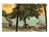 YMCA Boat Landing  Lake Geneva  Wisconsin