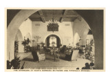 Interior  Biltmore Hotel  Santa Barbara  California